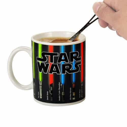Star Wars Lightsaber Heat Chage Mug