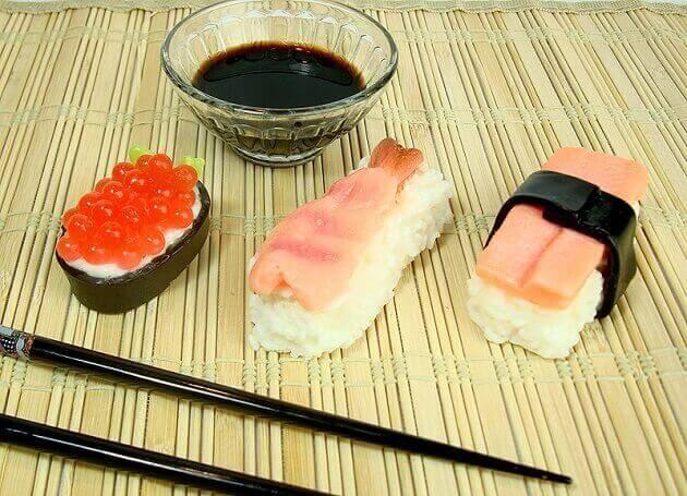 Goat S Milk Sushi Soap Set Huntsimply