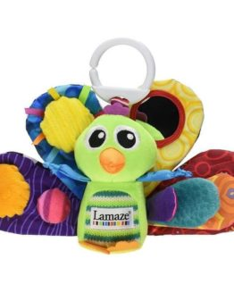 Tomy Lamaze Play and Grow Take Along Toy Jacques the Peacock