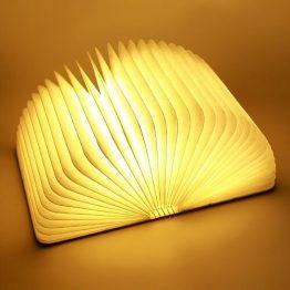 Wooden Folding LED Book Lamp