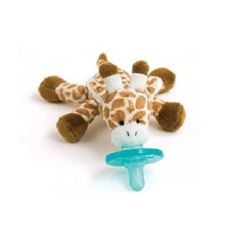 WubbaNub Plush Toy Pacifier - Giraffe
