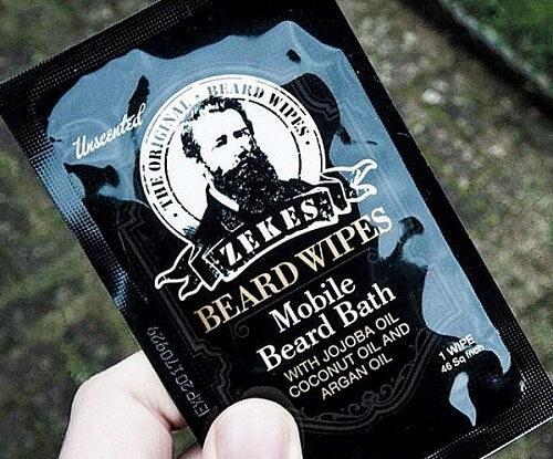 Zekes Original Beard Wipes