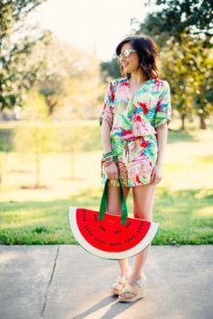 bando watermelon cooler bag