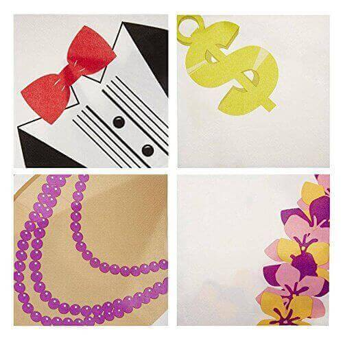 Dress for Dinner Paper Napkins Novelty Napkins