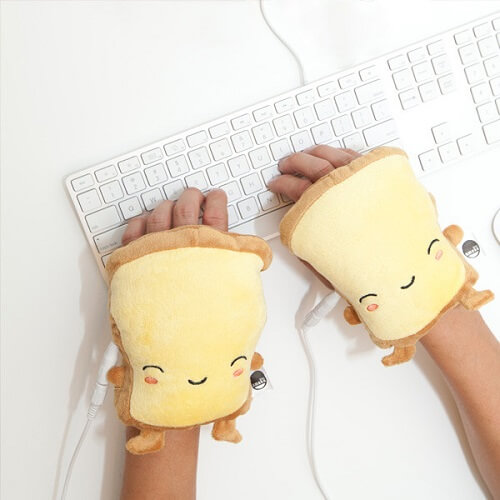 Toast USB Wired Handwarmers