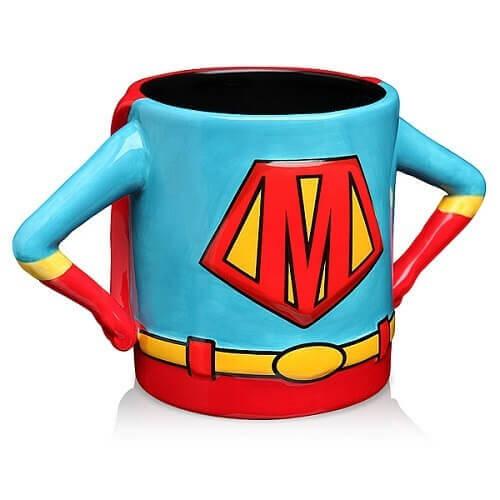 Superhero Mom Mug Front View