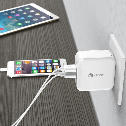iClever 4-Port USB Wall Charger