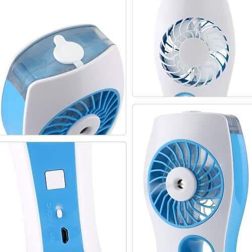 iEGrow Handheld USB Mini Misting Fan