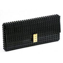 LEGO Bricks Black Clutch