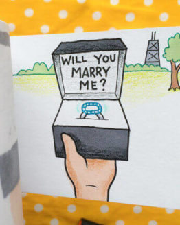 Will you marry me flipbook