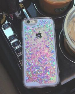 Liquid Holographic Glitter iPhone Case