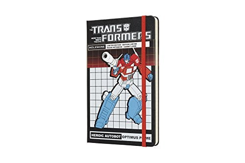 Moleskine Limited Edition Transformers Hard Cover Notebook