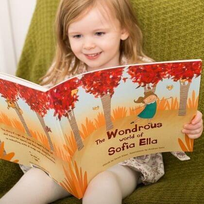 personalised children book