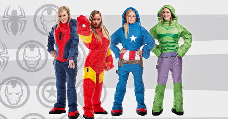 Selk'bag Marvel Sleeping Bag Ladies