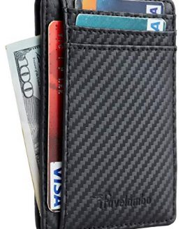 Travelambo RFID Blocking Leather Wallet