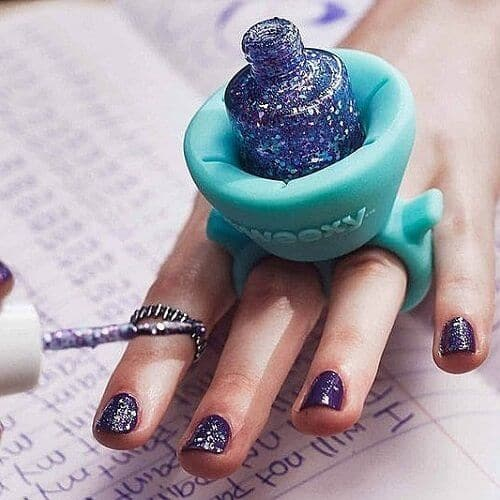 tweexy Wearable Nail Polish Bottle Holder